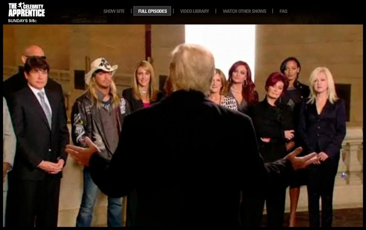 Bret Michaels The Celebrity Apprentice