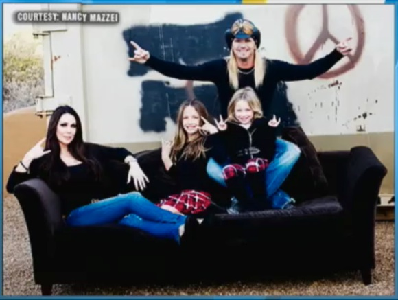 bret michaels with family